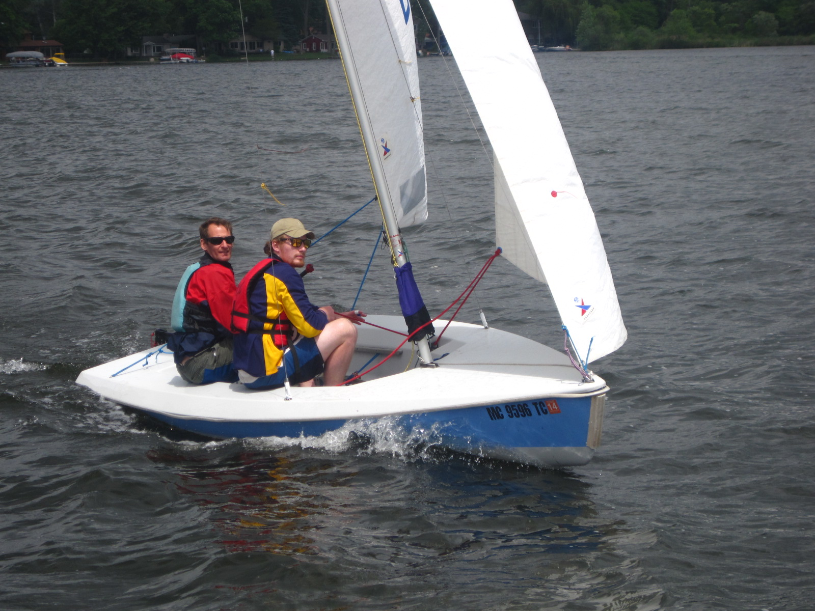 Sail A New Boat Days Michigan Sailing Club