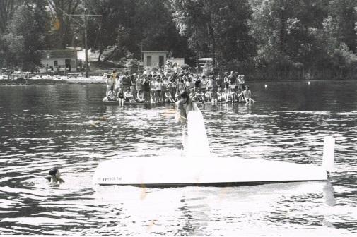 470 capsize demo