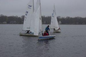 The fleet in action