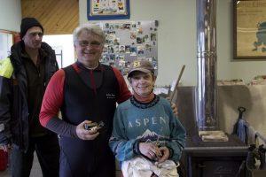 Second place winners Jane Tucker and Ovidiu Adam
