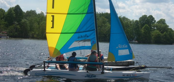 Hobie Getaway family sailboat
